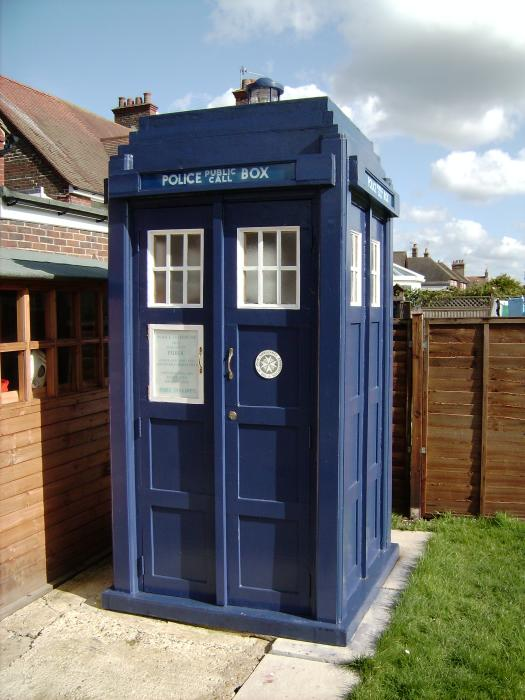 Just Sheds Nope They Are Tardis Sheds Doctor Sheddies