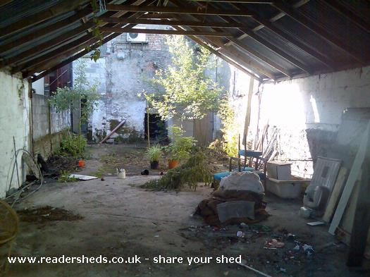 Photo of wonderworld, entry to Shed of the year-