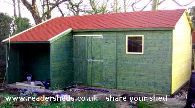 Our new shed