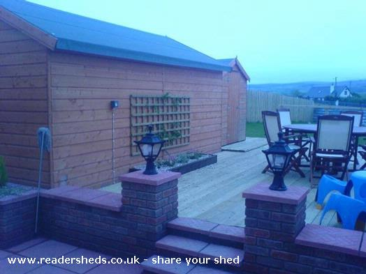 Photo of hackenbush, entry to Shed of the year-
