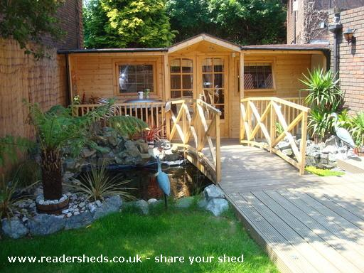 Photo of Jalsa Lodge, entry to Shed of the year-Front View
