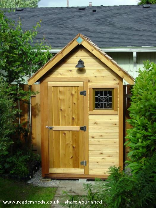 Garden Hutch, Unexpected From Portland, OR, USA Owned By Nick Nardi  #shedoftheyear