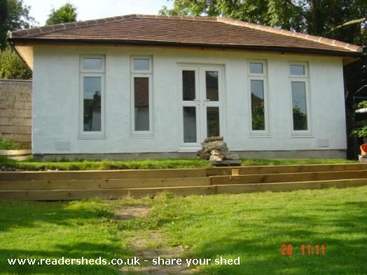 Photo of Me shed, entry to Shed of the year-