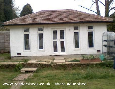 Photo of Me shed, entry to Shed of the year-Front