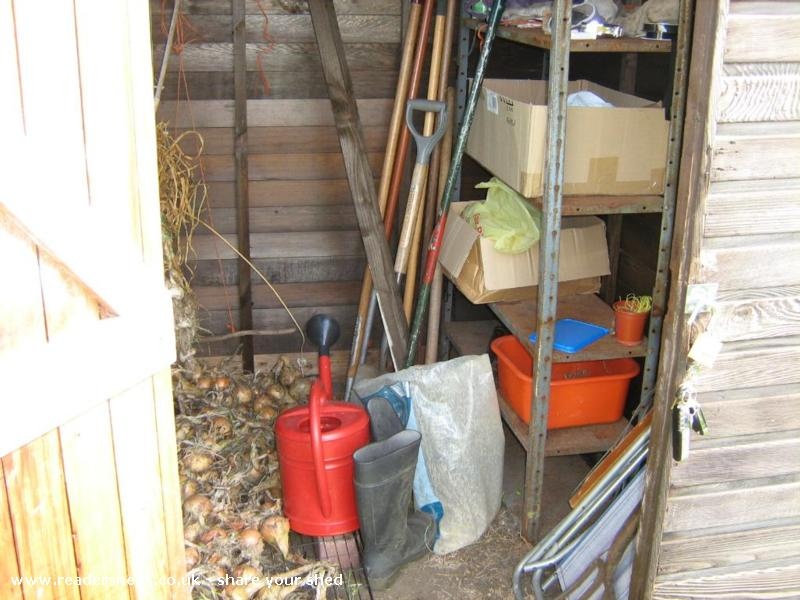 Allotment Tool Shed
