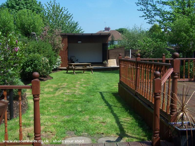 Garden Cinema, Cabin/Summerhouse from willenhall owned by ...