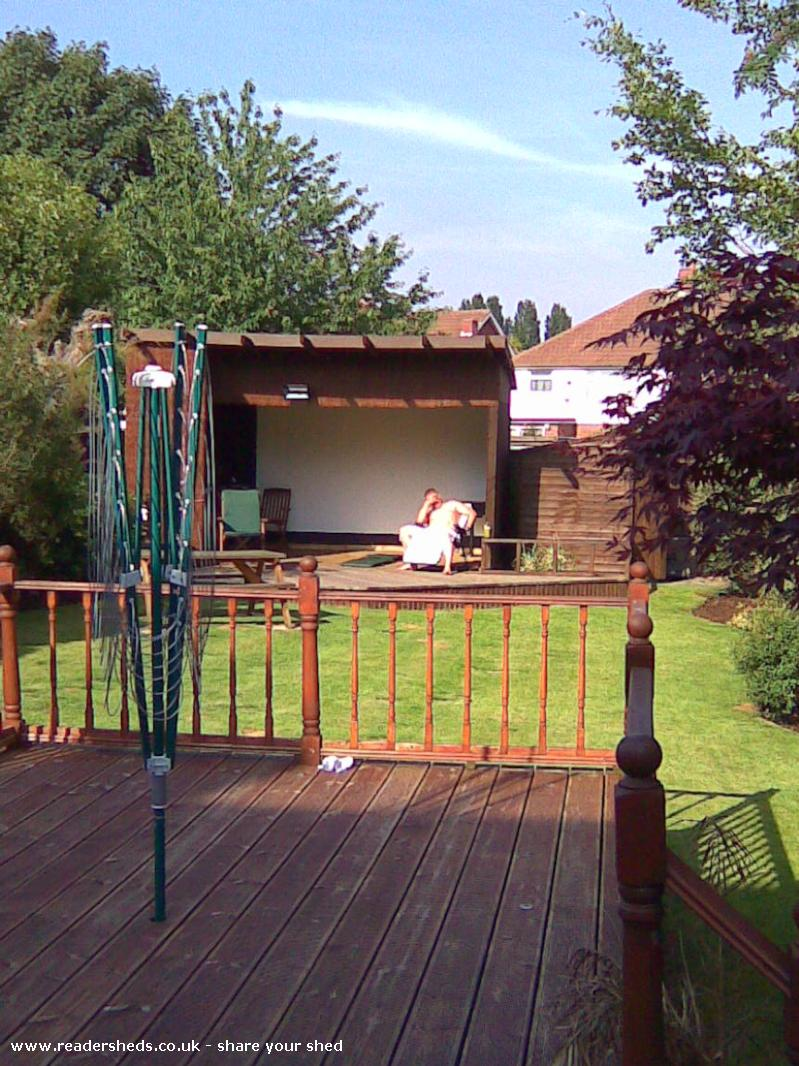 Garden Cinema Cabin Summerhouse From Willenhall Owned By