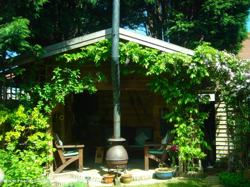 Photo of Love Shack, entry to Shed of the year-front