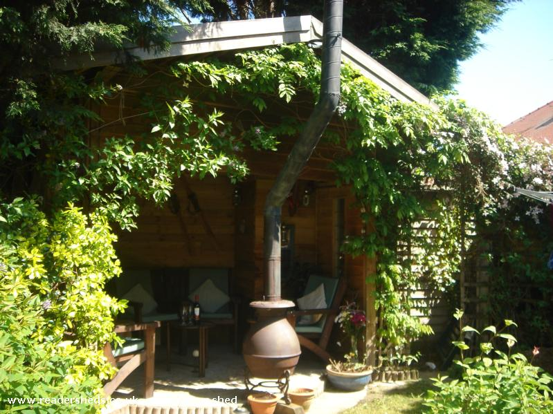 Photo of Love Shack, entry to Shed of the year-front left