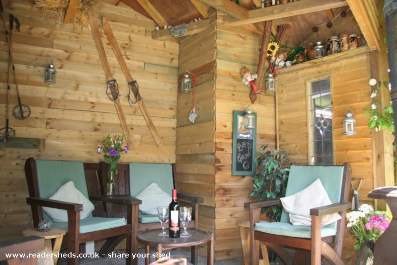 Photo of Love Shack, entry to Shed of the year