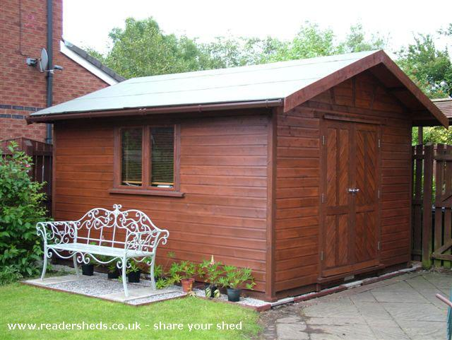 Photo of Tony's Shed, entry to Shed of the year