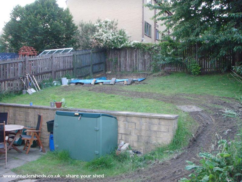 Photo of Summer Shed, entry to Shed of the year-Concrete in place