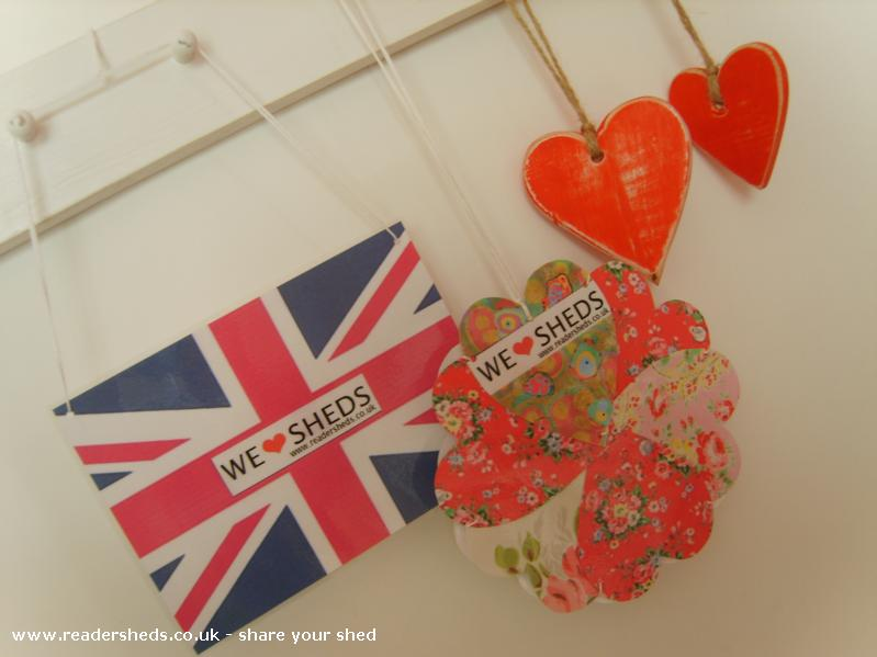 Photo of HERS, entry to Shed of the year-flower for the camper