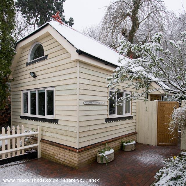 Photo of The Studio, entry to Shed of the year-The Studio, finished in winter 2007/8.