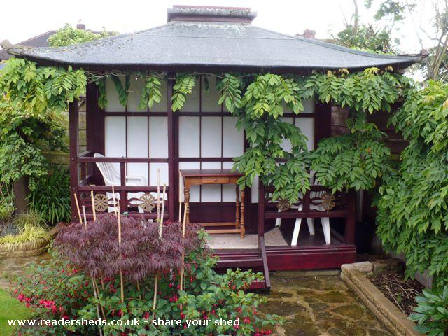 Photo of Tea Shed, entry to Shed of the year-Front