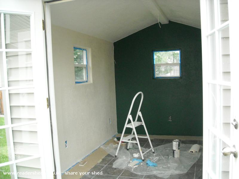Photo of Marilyn's, entry to Shed of the year-Painting