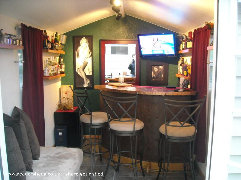 Photo of Marilyn's, entry to Shed of the year-Through the French Doors