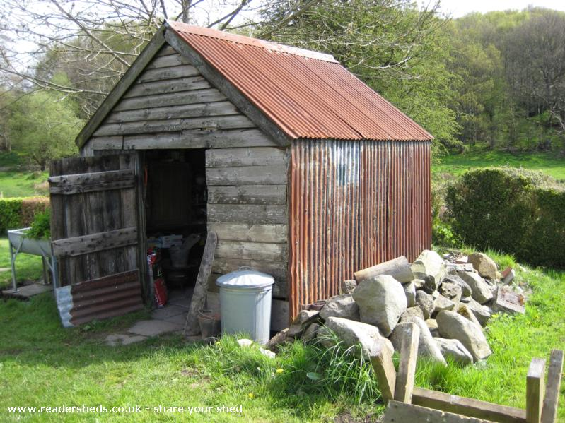 Photo of Wernfach Shed, entry to Shed of the year