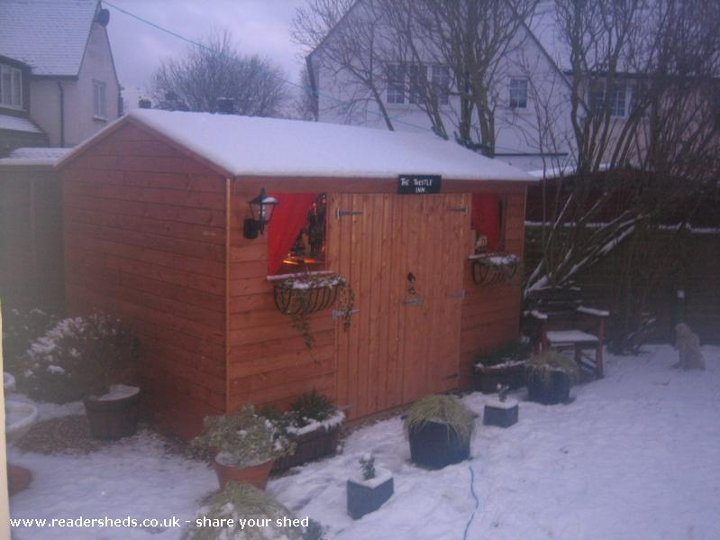 Photo of The Thestle Inn, entry to Shed of the year