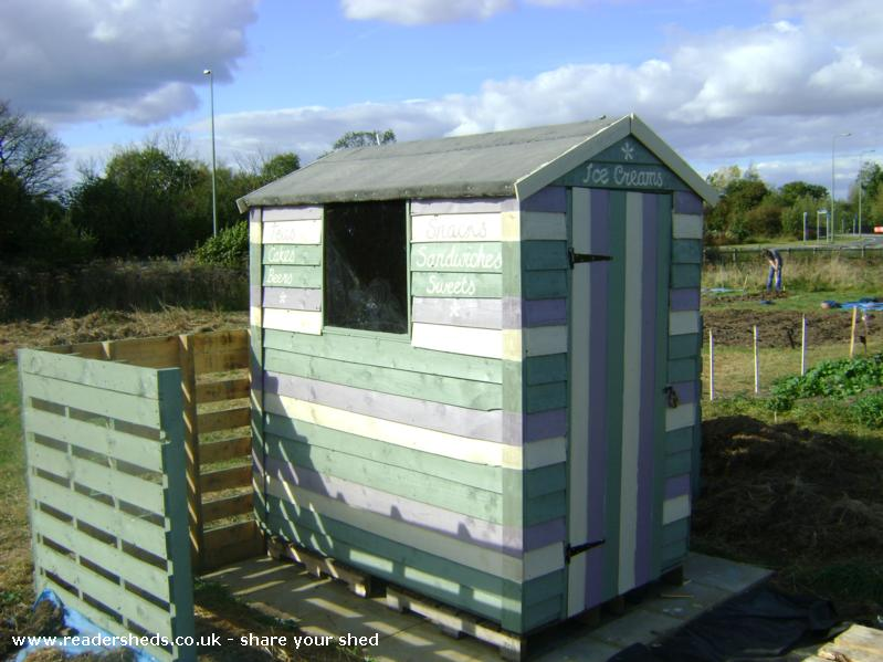 Photo of Frankenshed, entry to Shed of the year-Front