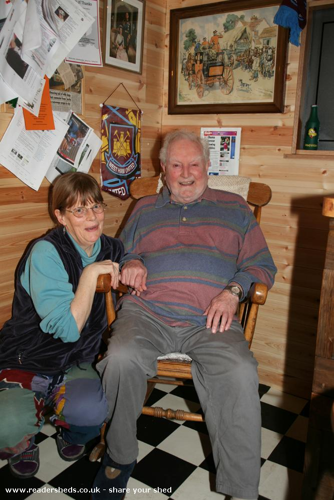 Photo of The Unicorn, entry to Shed of the year-George & Agnes are now regulars!