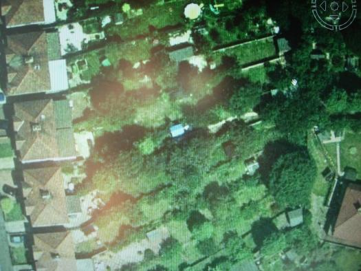 Photo of the sh&t pit, entry to Shed of the year-google earth screen shot