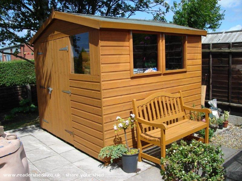 Photo of Ron's Bolthole, entry to Shed of the year