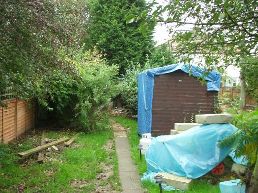 Photo of the sh&t pit, entry to Shed of the year-the old shed as can be seen from space!