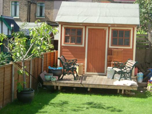 Photo of , entry to Shed of the year-