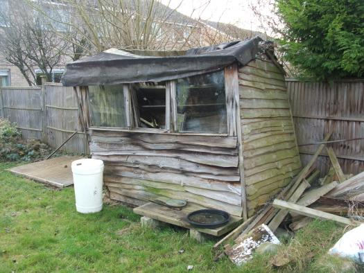 Rustic Art, Unique From My Garden, Good Olde Brackley Town Owned By Mo  Sumner #shedoftheyear