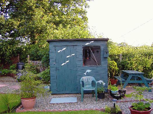 Photo of Dolphins Den, entry to Shed of the year-