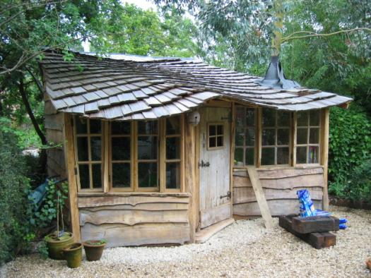 Photo of housetree, entry to Shed of the year-2nd upload attempt, sorry!