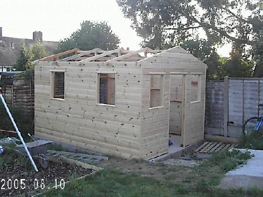 Photo of little gaff, entry to Shed of the year-halfway