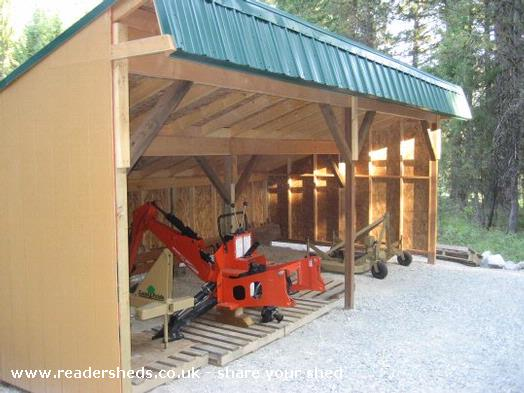 Tractor Shed Plansshed Plans Shed Plans