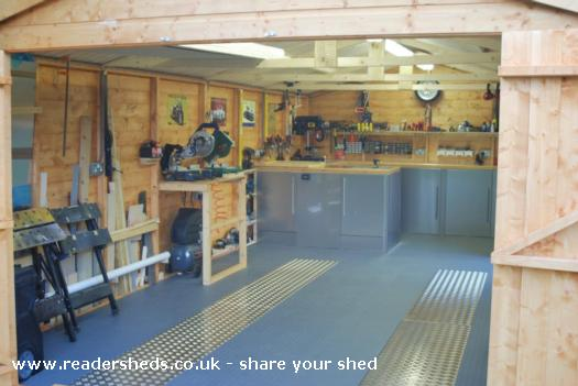 Dad's Shed !