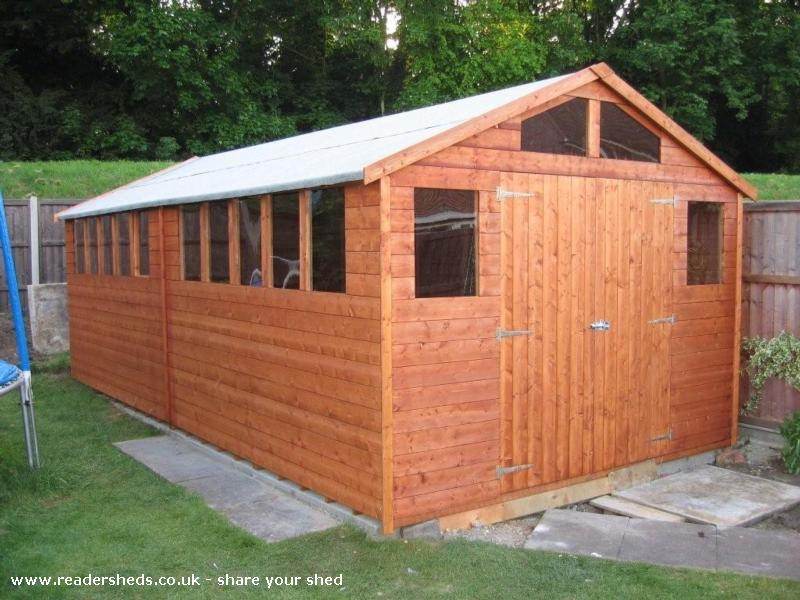 Barry's love shed