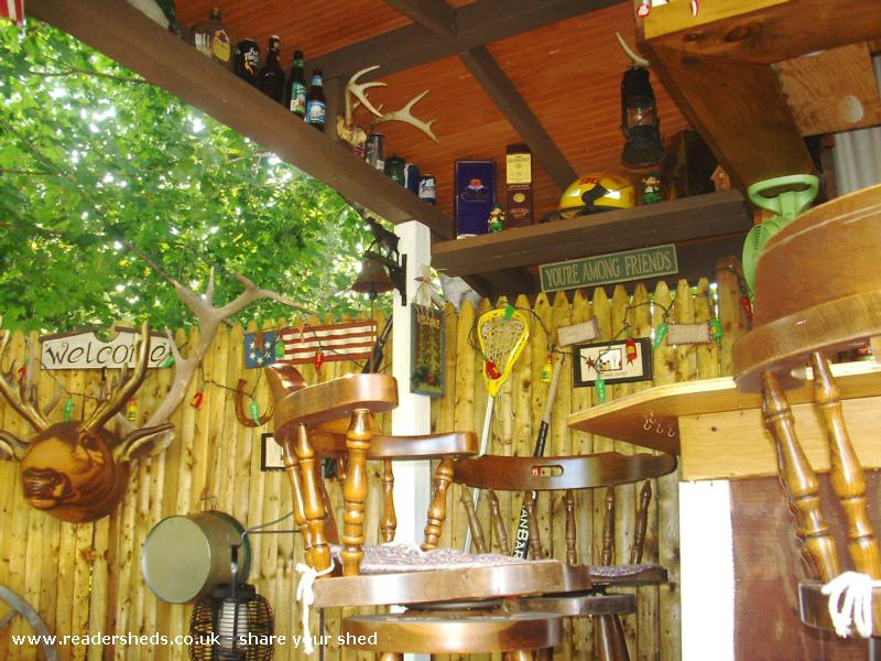 Photo of Redneck Tiki, entry to Shed of the year-collection