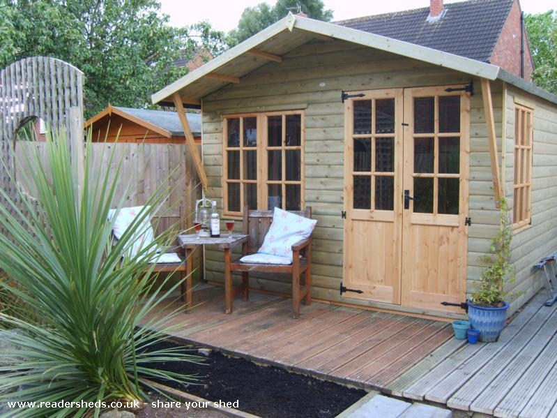 Photo of HERS, entry to Shed of the year