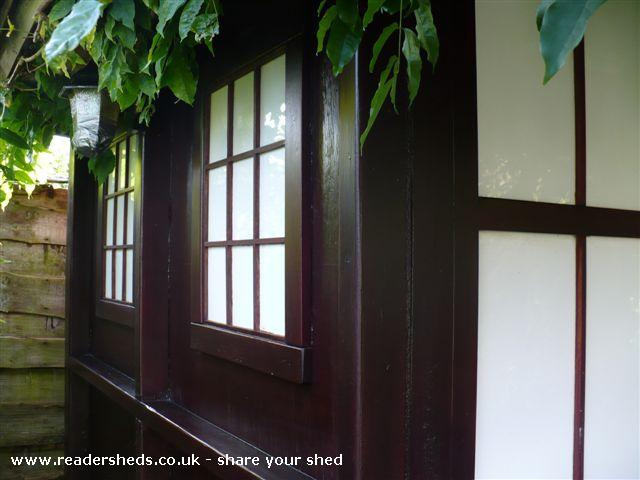 Photo of Tea Shed, entry to Shed of the year-Left