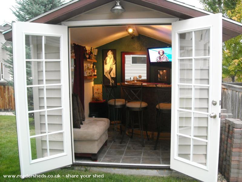 Photo of Marilyn's, entry to Shed of the year-View of Marilyn