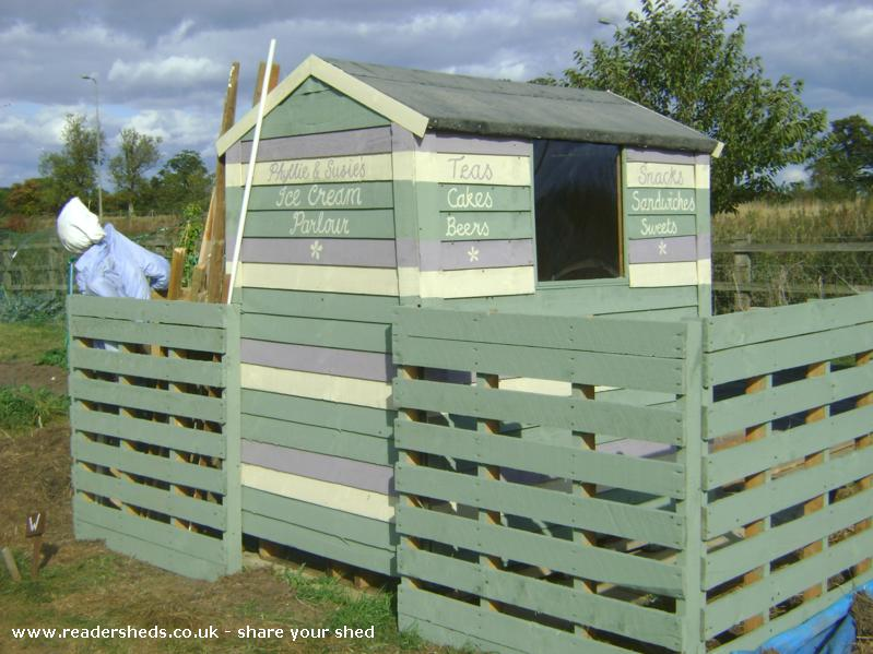 Photo of Frankenshed, entry to Shed of the year-Back view