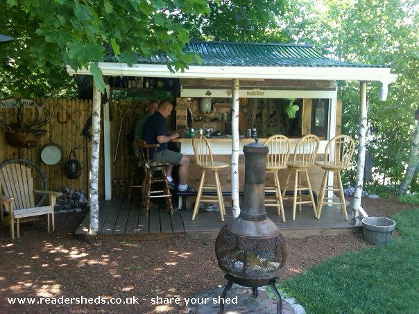 Photo of Redneck Tiki, entry to Shed of the year