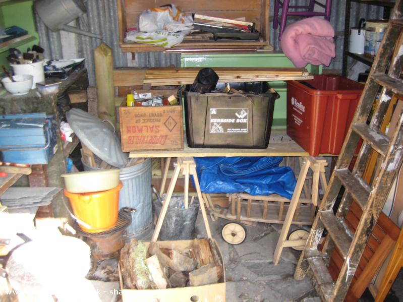 Photo of Wernfach Shed, entry to Shed of the year-Inside the shed