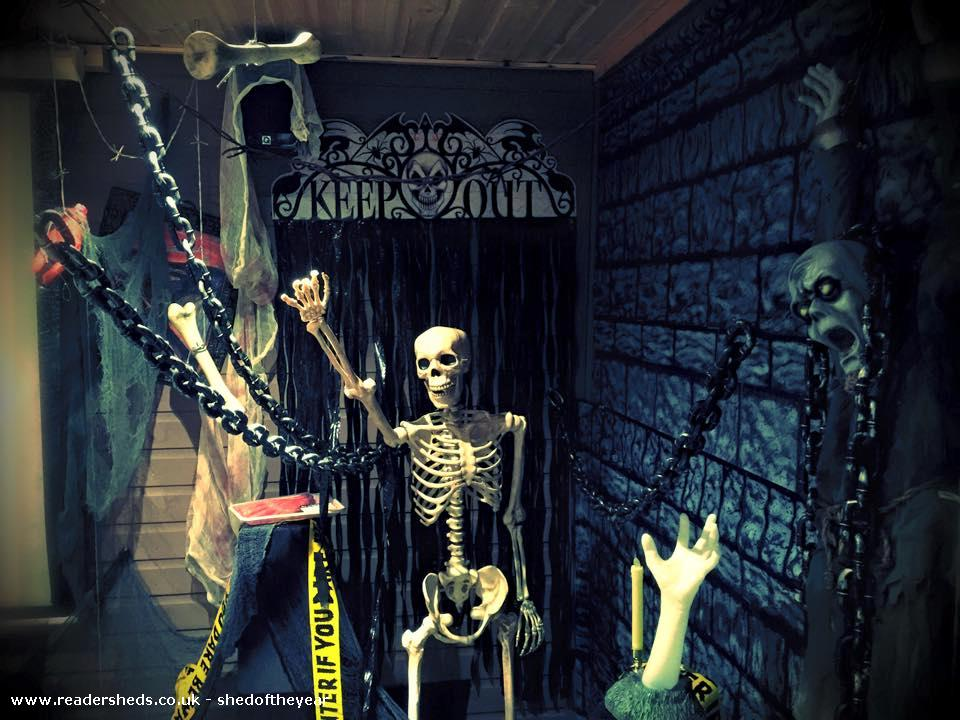 Photo of reelwood, entry to Shed of the year-Halloween 2014