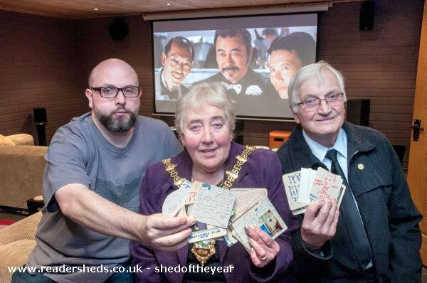 Photo of reelwood, entry to Shed of the year-The Mayor of Dudley visits for a special screening of
