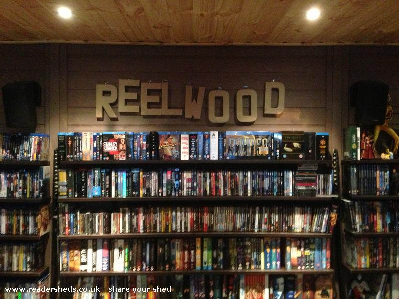 Photo of reelwood, entry to Shed of the year-official logo!