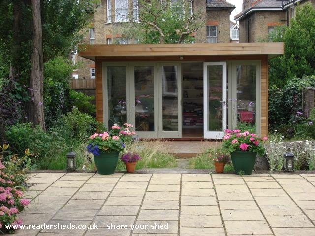Photo of Judith's Garden Office , entry to Shed of the year