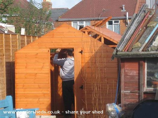 Henry's shed