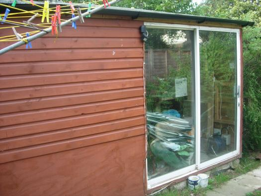 Photo of the sh&t pit, entry to Shed of the year-