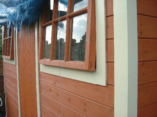 Photo of , entry to Shed of the year-window detail